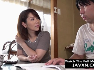 hot japanese mom and shy stepson segment