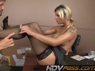 Office Whore Klarisa Leone Fucked Raw