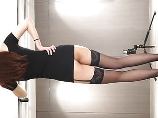 Dancing in stockings