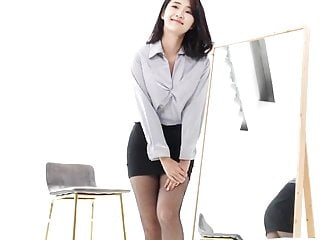 Korean Stockings, pantyhose, the office look, 4