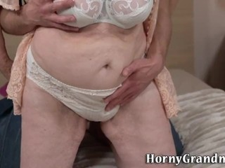 Grannies hairy pussy fuck